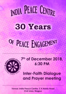 30th Anniversary of India Peace Centre