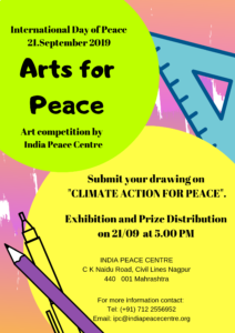 Arts for Peace: Climate Action for Peace Competition @ India Peace Centre