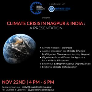 Climate Crisis in Nagpur: A Presentation @ India Peace Centre