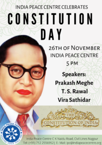 Constitution Day @ India Peace Centre